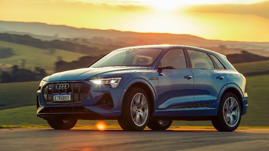 Audi e-tron 2021 SUV - Divulgação