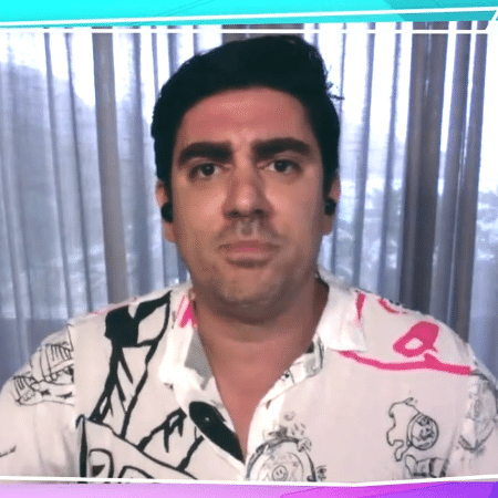 """Marcelo Adnet no """"Plantão BBB"""" - Reprodução / TV Globo"""