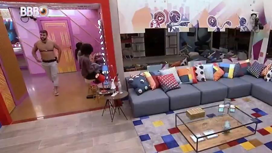 BBB 21: Juliette brinca com vezes que Arthur foi ao paredão - Reprodução/Globoplay
