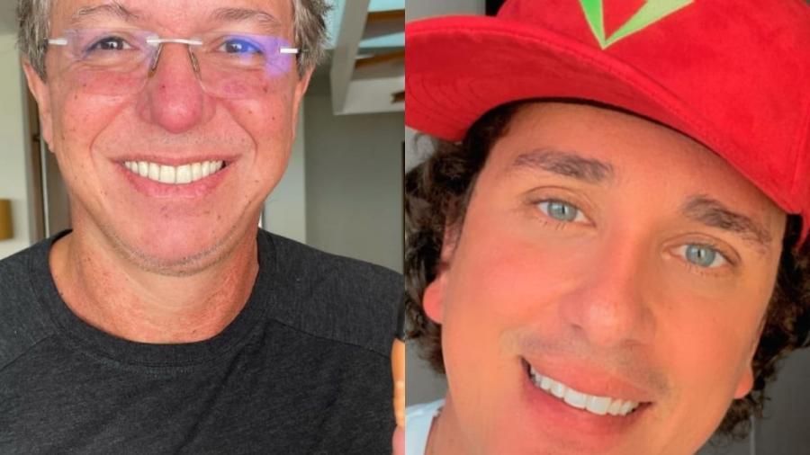 BBB 21: Boninho e Rafael Portugal brincam sobre retorno de Gilberto ao programa - Reprodução/Instagram