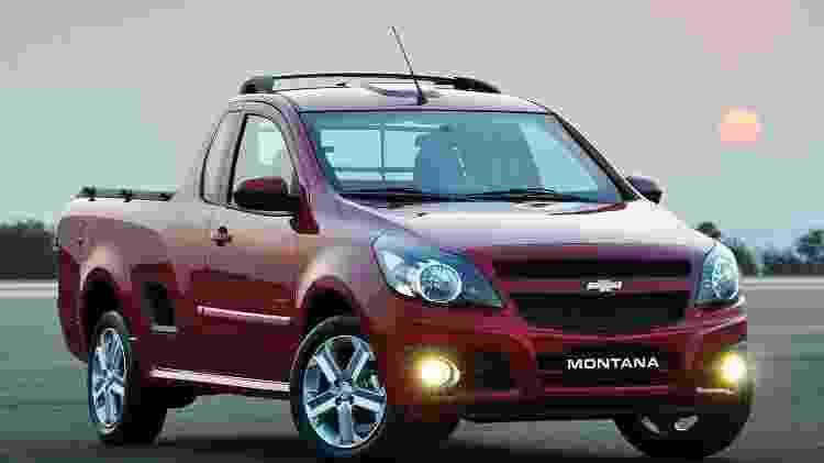 Chevrolet Montana - Divulgação - Divulgação