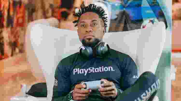Zé Roberto, ex-jogador e influencer do Time Playstation 2021 - Divulgação/Sony - Divulgação/Sony