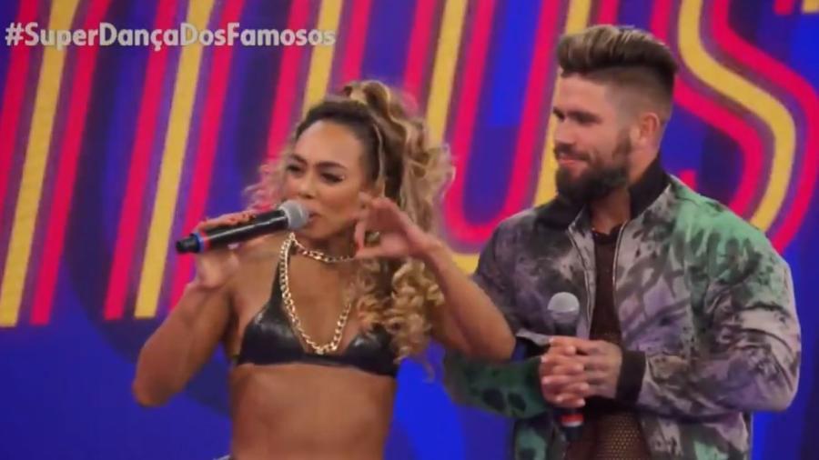 Dandara Mariano se apresentou no funk hoje - Reprodução/Globo