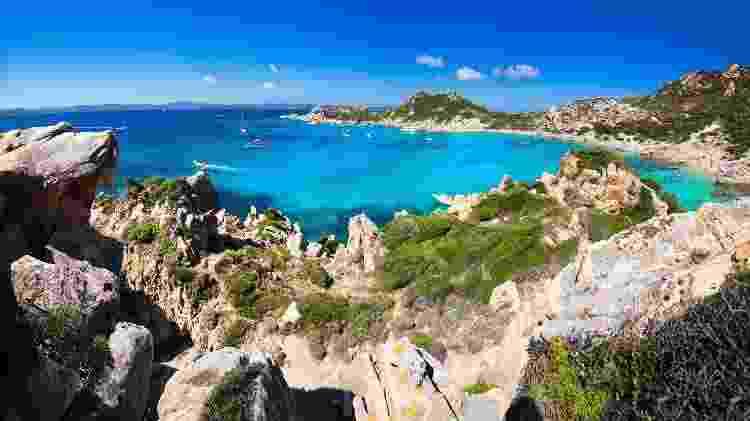 A região da Sardenha é uma das mais procuradas pelos turistas na Itália - Getty Images - Getty Images