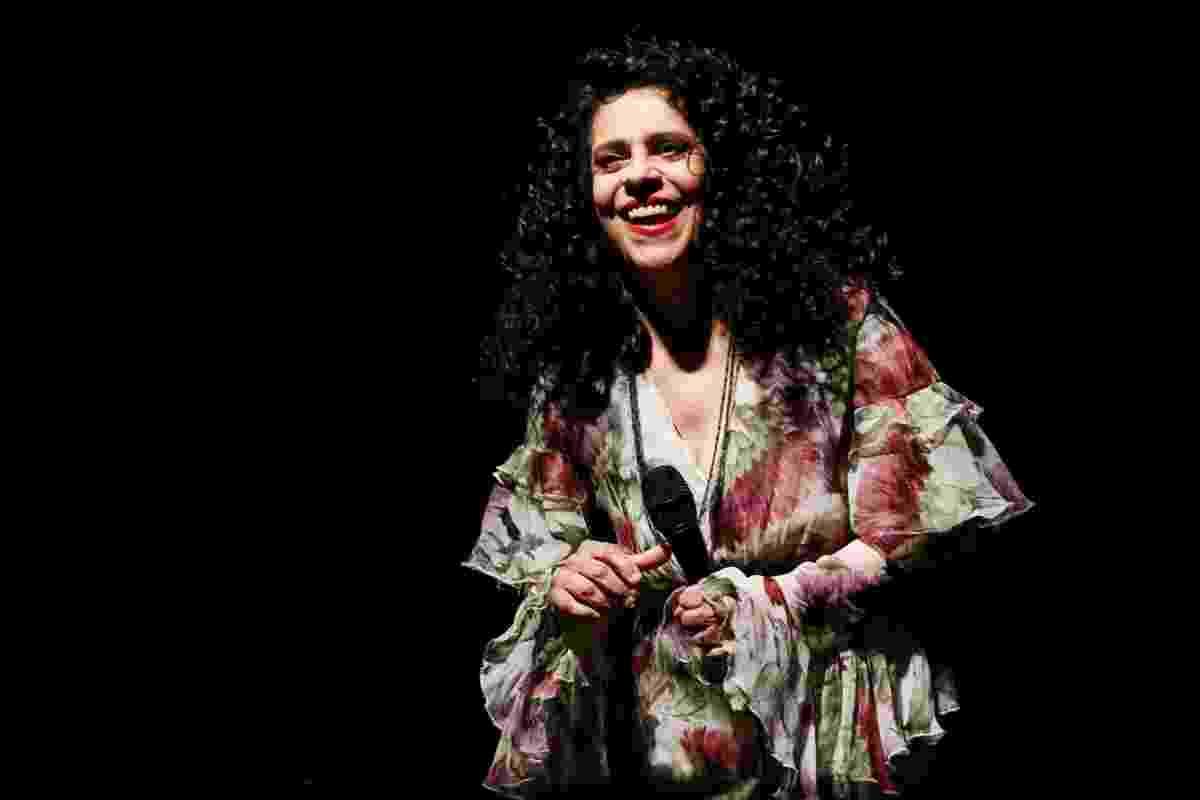 """21.nov.2015 - Gal Costa apresenta o show """"Estratosférica"""", no Tom Brasil, em São Paulo - Manuela Scarpa/Brazil News"""