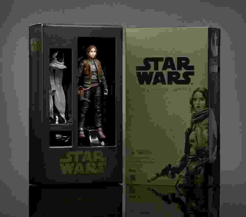 """Edição especial de boneco da personagem Jyn Erso, de """"Rogue One: Uma História Star Wars"""", que estará à venda exclusivamente na San Diego Comic-Con 2016 - Divulgação"""