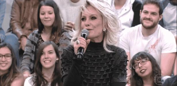 """Ana Maria Braga compara e diz que """"toda mulher que pare é igual vaca"""" - Reprodução/TV Globo"""
