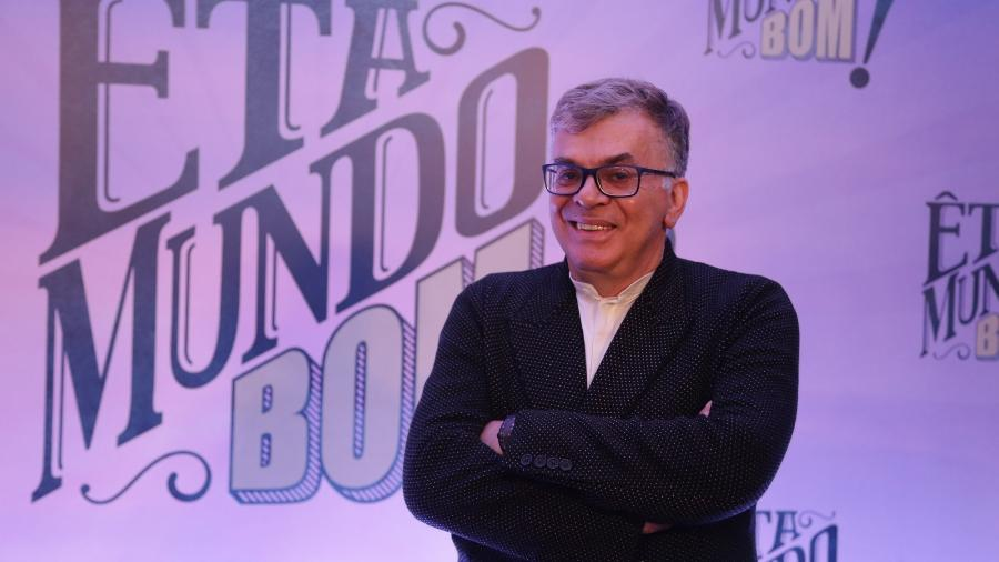 """Walcyr Carrasco é autor de """"O Outro Lado do Paraíso"""" - Paulo Belote/Globo"""