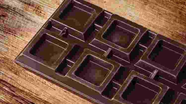 Chocolate em barra - iStock - iStock