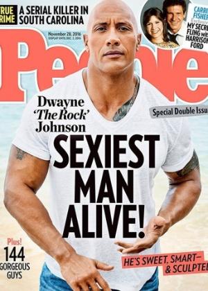"""Dwayne Johnson, o The Rock"""", é eleito o homem mais sexy do mundo - Divulgação"""