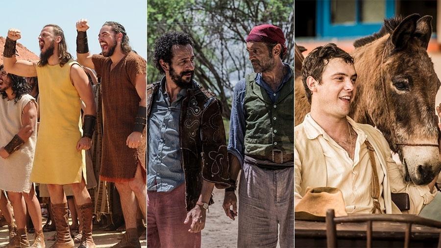 Público e críticos do UOL elegeram os destaques do ano na TV - Montagem/Divulgação