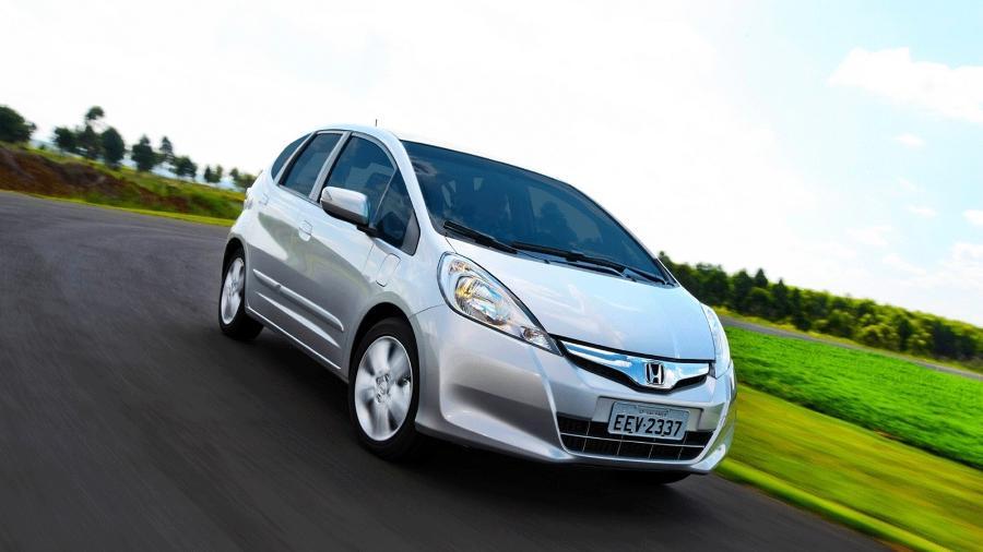 Fit 2012, uma geração atrás do carro atual, é um dos modelos envolvidos no chamado - Divulgação