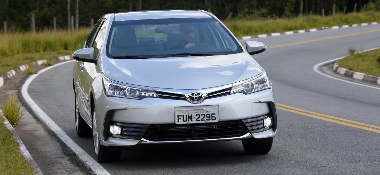 Toyota Corolla: best seller japonês ajudou marca a terminar mais um ano como líder global - Murilo Góes/UOL