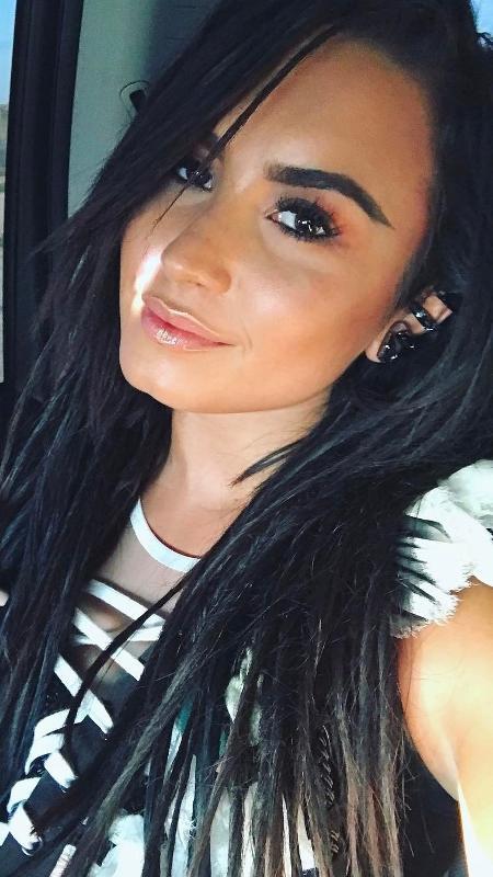 A atriz e cantora Demi Lovato - Reprodução/Instagram
