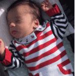 Maria Cecília e Rodolfo divulgaram fotos do filho Pedro - Reprodução/Instagram