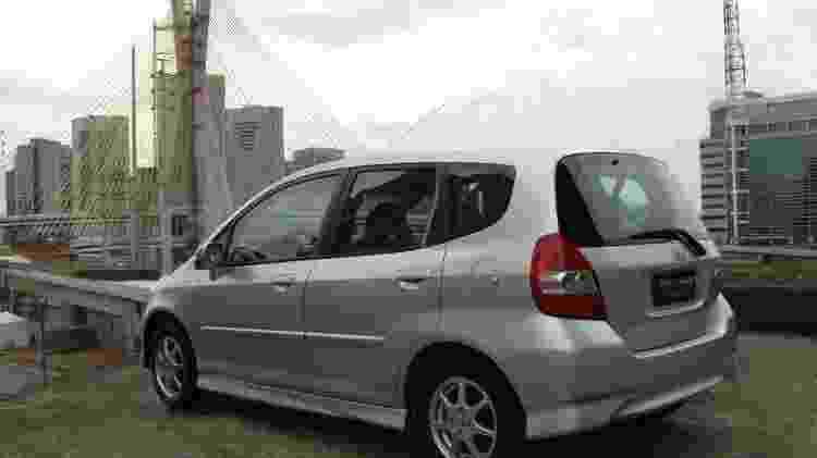 Honda Fit 2005 - Divulgação - Divulgação