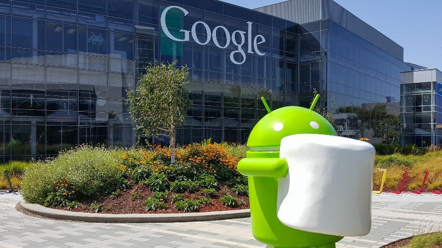O escritório do Google em Mountain View, Califórnia - Getty Images