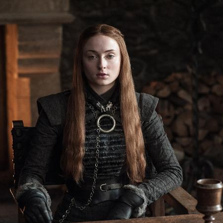 """Sansa Stark (Sophie Turner) na 7ª temporada de """"Game of Thrones - Divulgação"""
