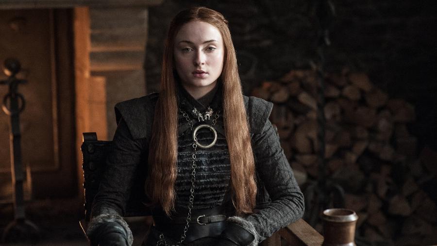 """Guerreira: Sansa Stark na 7ª temporada de """"Game of Thrones - Divulgação"""