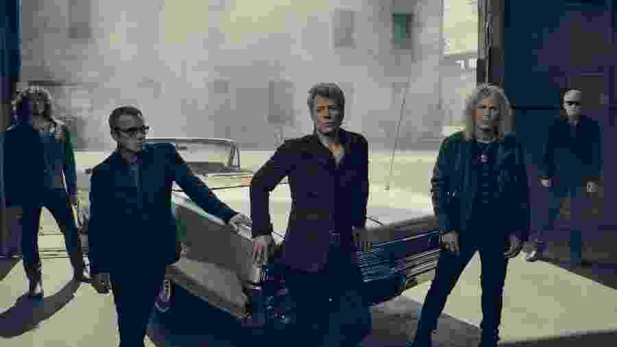 A banda Bon Jovi desembarca no Brasil em setembro para três shows - Divulgação