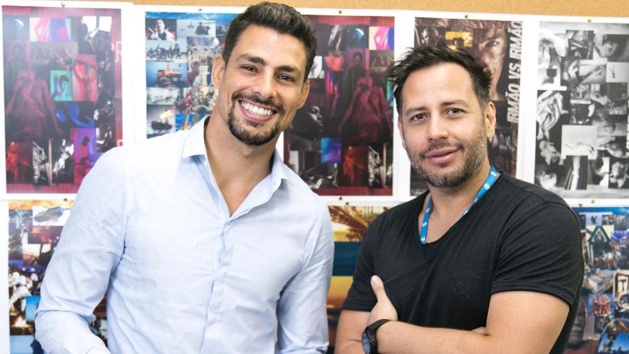 Cauã Reymond e o cineasta Afonso Poyart farão minissérie em plataforma de petróleo  - Sergio Zalis / TV Globo