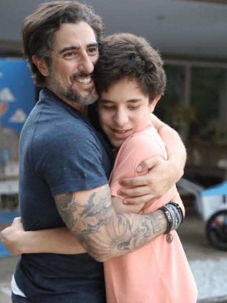 Marcos Mion e o filho, Romeu - Reprodução/Instagram/marcosmion