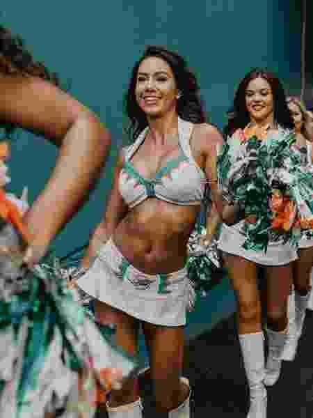 Vera Lucia, cheerleader do Miami  - Divulgação - Divulgação