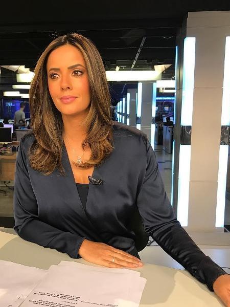 A jornalista Paloma Tocci, que está grávida do primeiro filho - Reprodução/Instagram