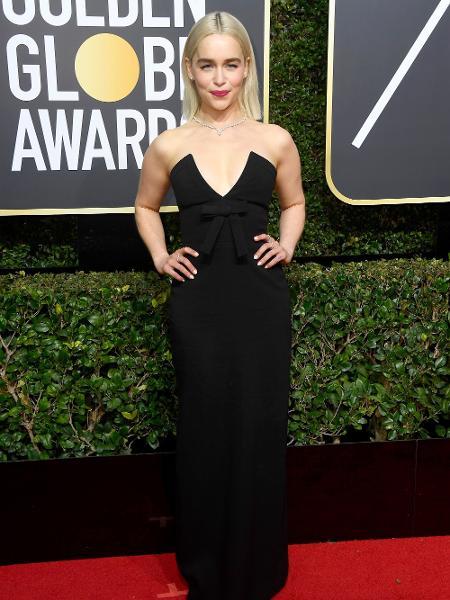 "Emilia Clarke, a Daenerys Targaryen de ""Game of Thrones"" - Getty Images"