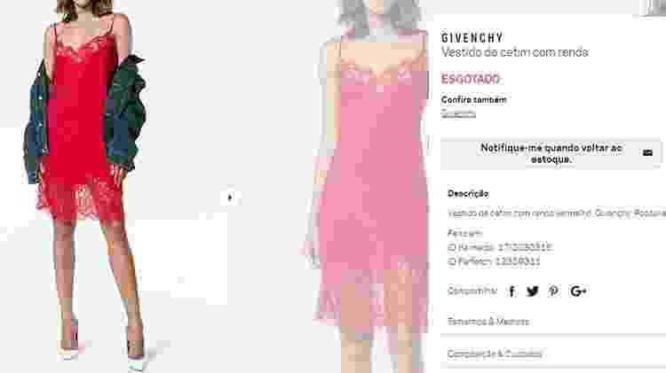 Vestido usado por Bruna Marquezine - Reprodução - Reprodução