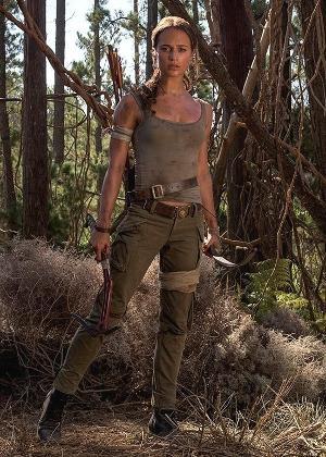 Alicia Vikander é Lara Croft em Tomb Raider - A Origem