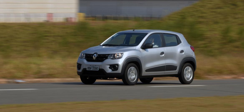 Subcompacto da Renault é um dos carros mais baratos do país e traz quatro airbags de série em todas as versões - Murilo Góes/UOL