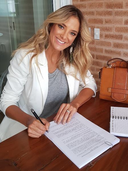 Ticiane Pinheiro assina contrato com Record até 2020 - Divulgação