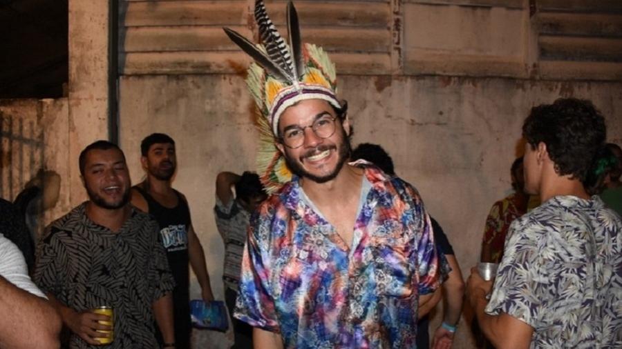 Túlio Gadelha pula Carnaval em Recife, na madrugada de sexta (9/2) - Felipe Souto Maior/Agnews
