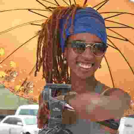 A diretora Camila de Moraes, a segunda mulher negra a ter um longa exibido comercialmente no país - Reprodução/Facebook