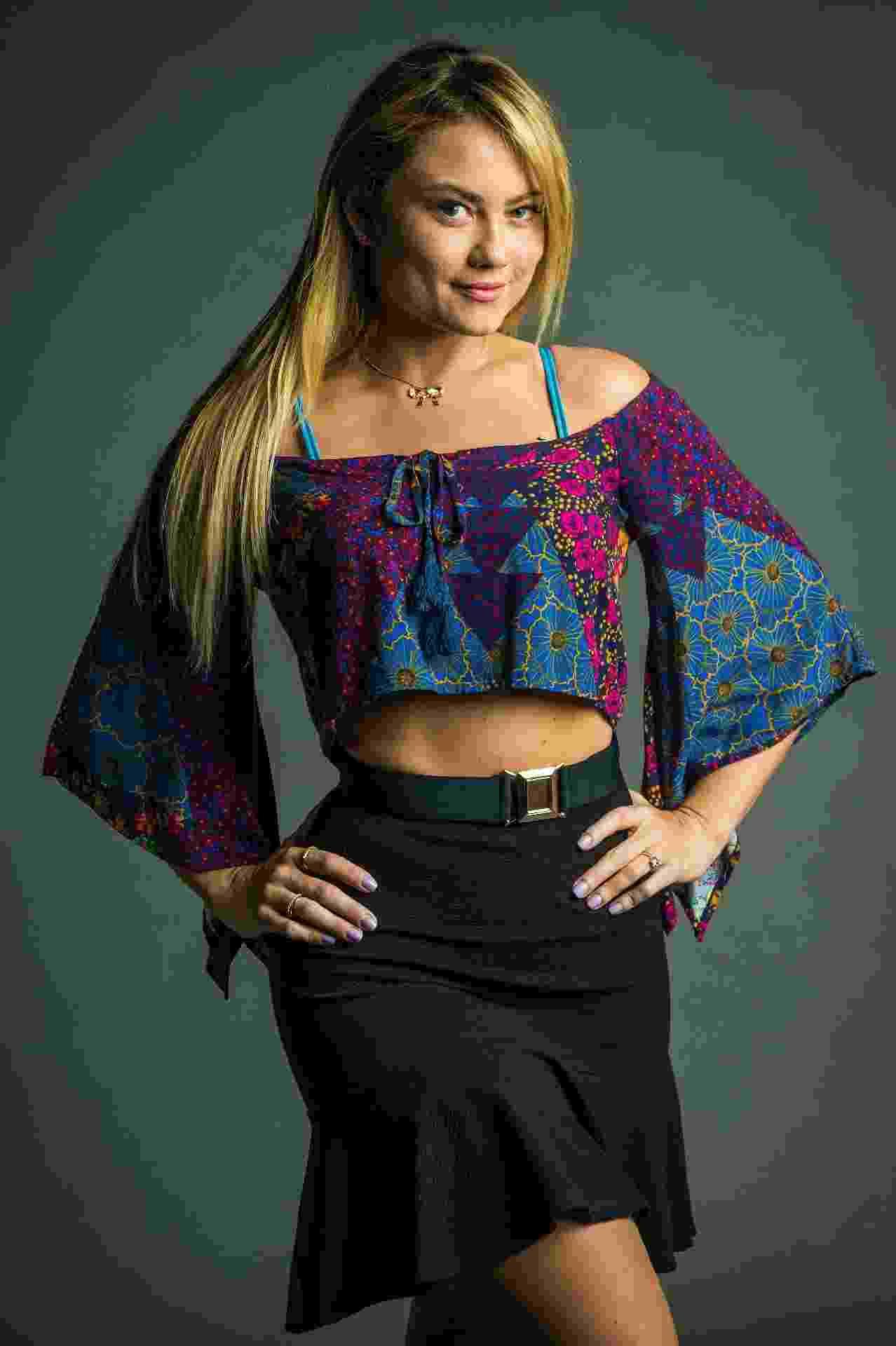 Com 22 anos de carreira, Ellen Rocche considera que está na melhor fase - Raquel Cunha/Globo