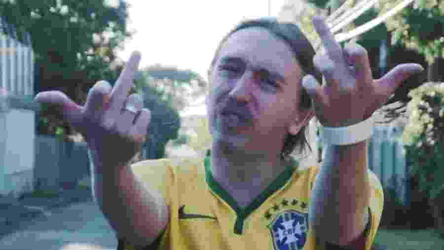 O rapper brasiliense MC Sid - Reprodução