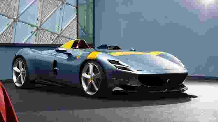 Monza SP1 tem lugar só para motorista e dispensa para-brisa - Divulgação