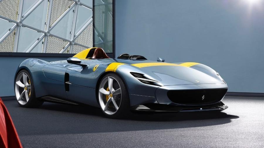 Ferrari Monza SP1 - Divulgação