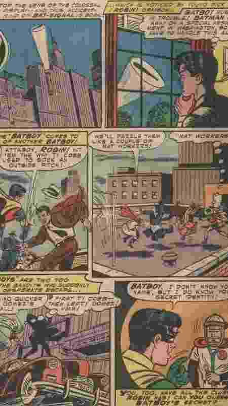 """Página de """"Batman #90"""", lançada em 1954 - Reprodução/CBR - Reprodução/CBR"""