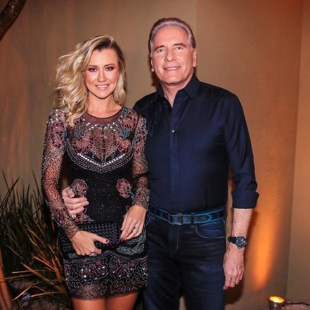 Roberto Justus e Ana Paula Siebert - Thiago Duran/AgNews