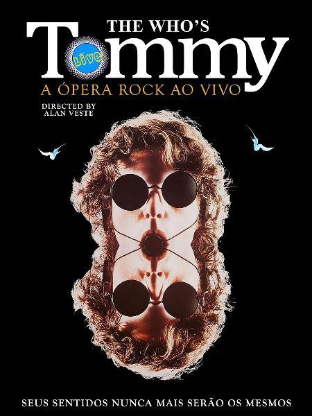 """Pôster do musical """"Tommy"""", baseado no disco do The Who - Divulgação"""