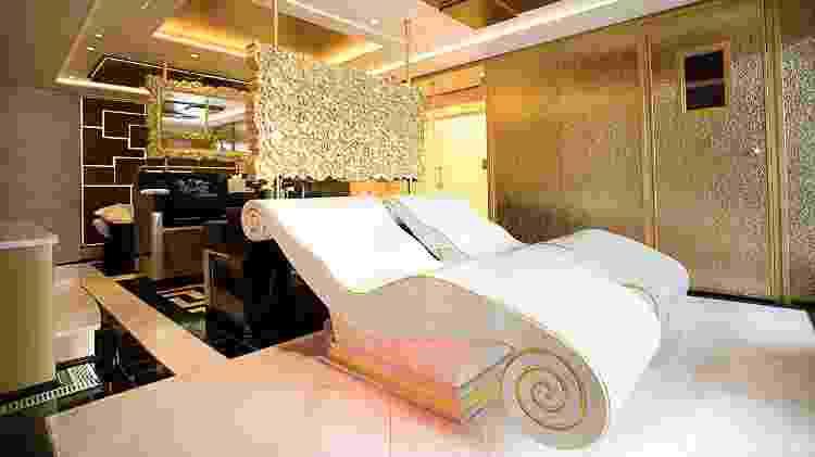 Atração do Seven Seas Explorer, a Regent Suite conta com spa privativo  - Divulgação/Regent Seven Seas - Divulgação/Regent Seven Seas