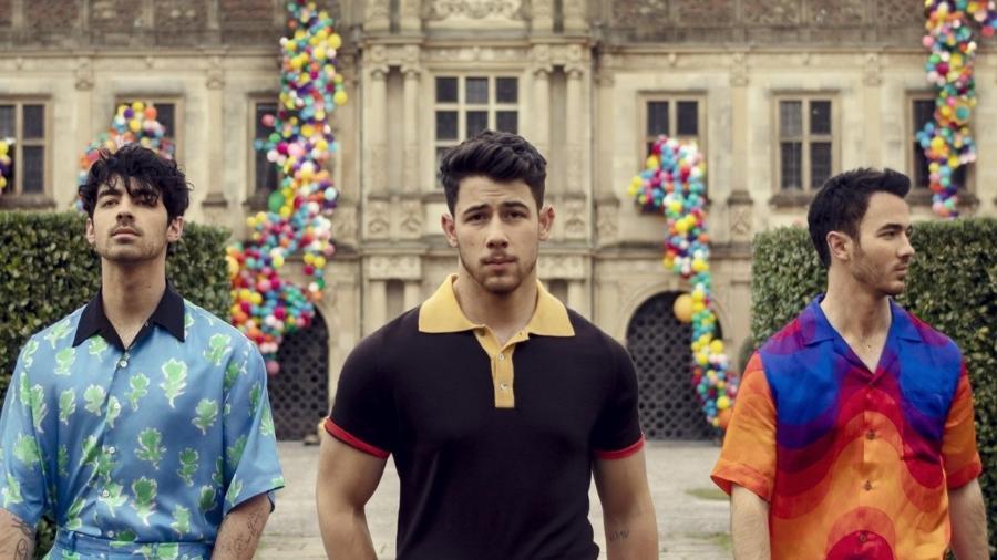 """Capa de """"Sucker"""", novo single dos Jonas Brothers - Reprodução/Instagram"""