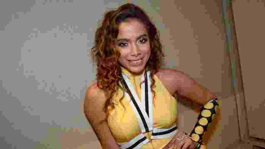 Anitta comanda trio em Salvador e usa look inspirado no É o Tchan - André Muzell/Brazil News
