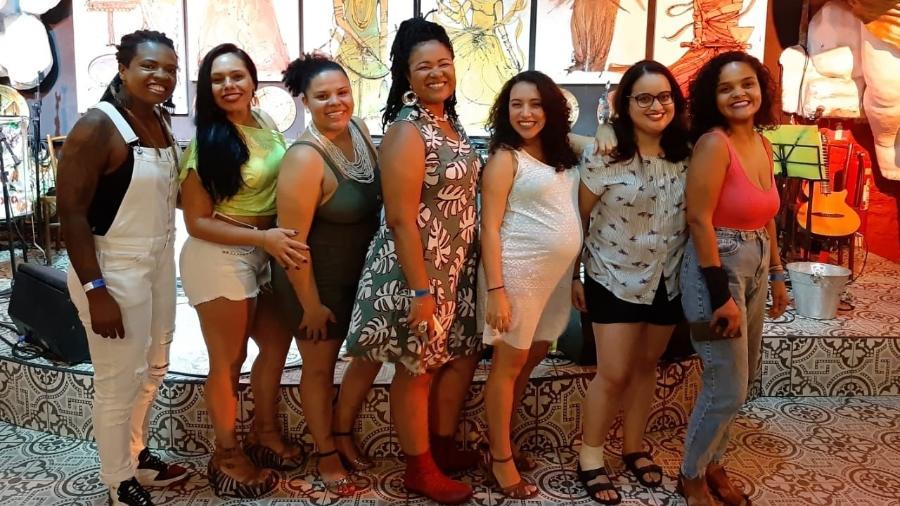 """Grupo """"Samba de Dandara"""", formado por mulheres - Divulgação"""