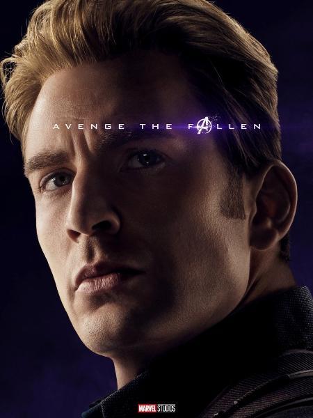 Chris Evans como Capitão América - Reprodução/Twitter