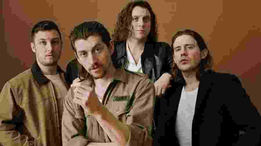"Arctic Monkeys: Matt Helders, Alex Turner, Nick O""Malley e Jamie Cook - Divulgação"