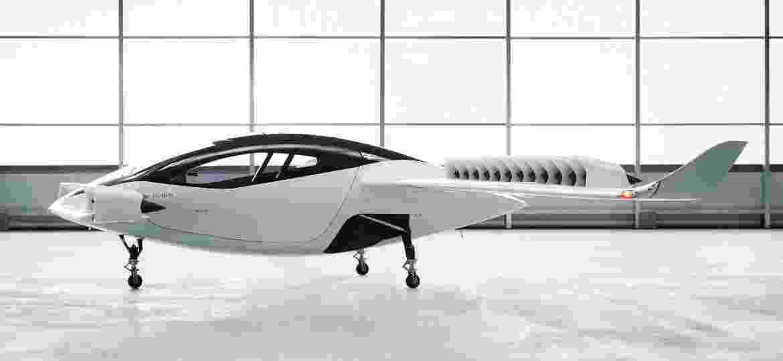 Ilustração de um protótipo de táxi voador da start-up Lillium - Divulgação/Lilium/Reuters