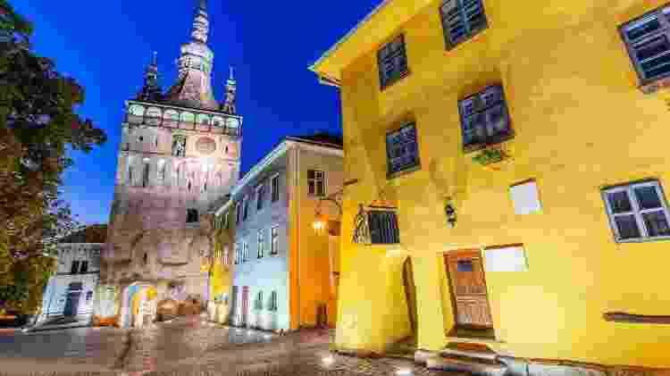 Cidade de Sighisoara, na Romênia - sorincolac/Getty Images - sorincolac/Getty Images
